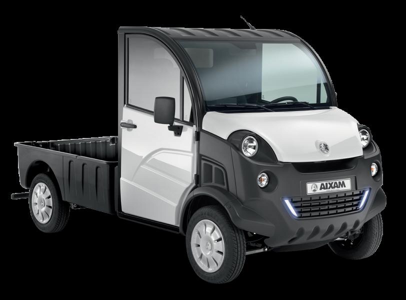 brommobiel pick up aixam pro d truck. Black Bedroom Furniture Sets. Home Design Ideas